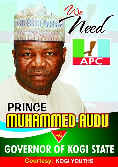 See Poster Of Late Abubakar Audu's Son Running For Kogi Governorship