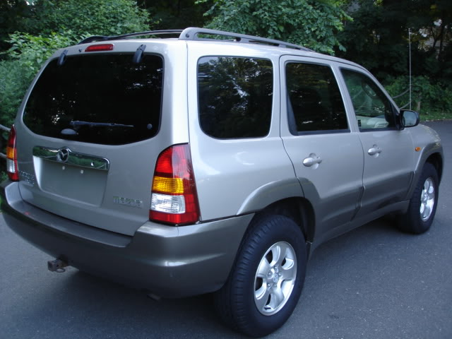 newly usa imported 2001 mazda tribute jeep for sale. Black Bedroom Furniture Sets. Home Design Ideas