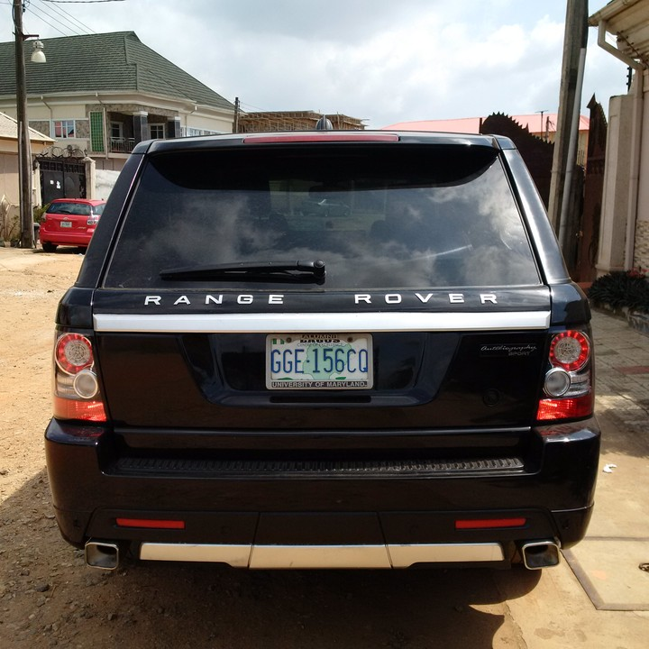 SuperClean 2008 Range Rover Sport Upgraded To 2012