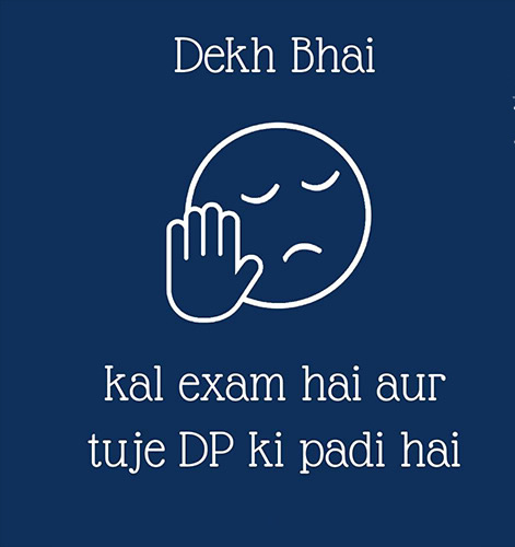 Exam time Funny FB covers wallpapers,status Exam troll images