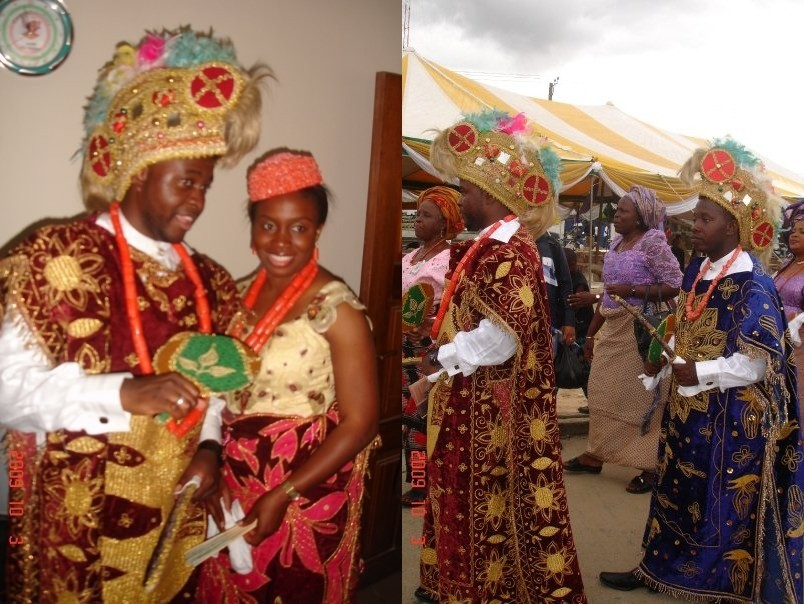 6 Lovely Indigenous Nigerian Wedding Attires And Bridal ... Nigerian Culture And Tradition