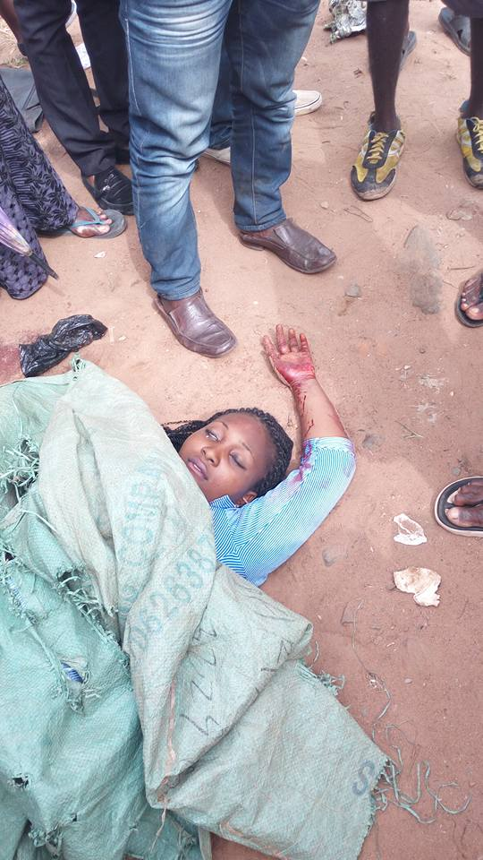 Federal College Student Killed During Biafra Protest (GRAPHIC)