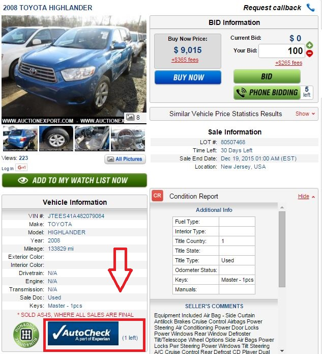 Find Your Car And We Will Do The Rest!