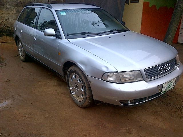 a nigerian used audi a4 wagon for sale 550k autos nigeria. Black Bedroom Furniture Sets. Home Design Ideas