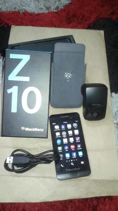 how to clear a blackberry z10