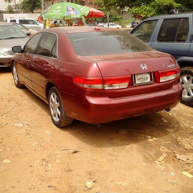 2004 model honda accord ex l v6 for autos nigeria. Black Bedroom Furniture Sets. Home Design Ideas