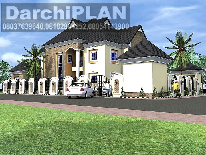 Works of a nairaland architect properties nigeria for 4 bedroom duplex designs in nigeria