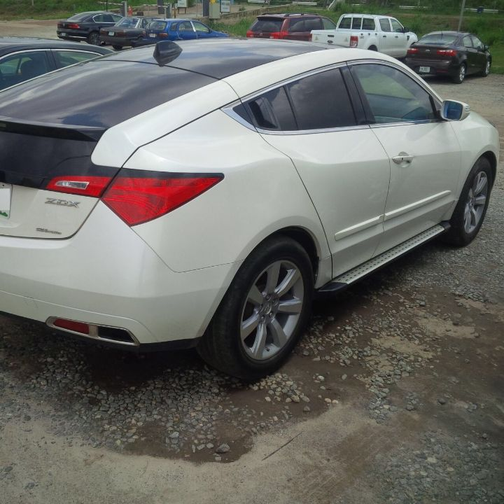 Registered 2010 Acura ZDX @ 5M