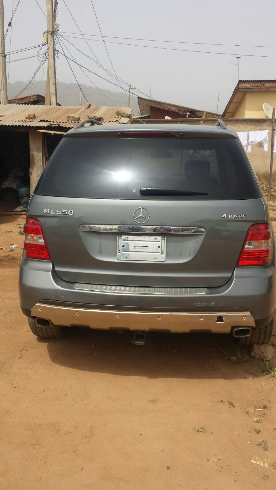 Clean Mercedes Benz Ml550 2008 For Sale In Abuja N2