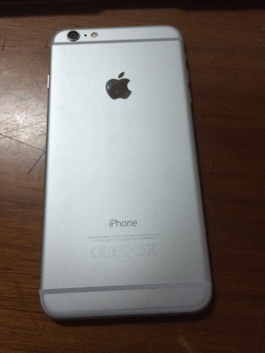 silver iphone 6 plus 1 month used 64gig silver iphone 6plus for 16130