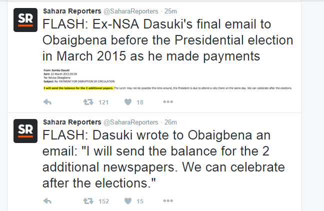 See What Dasuki And Thisday Newspaper Owner Planned To Do After