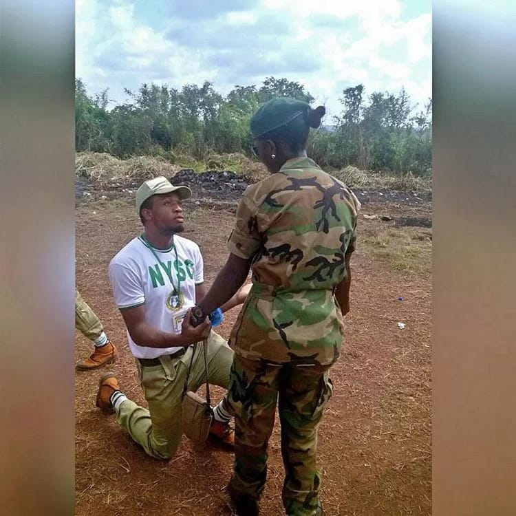 Image result for nysc corpers disgrace camp