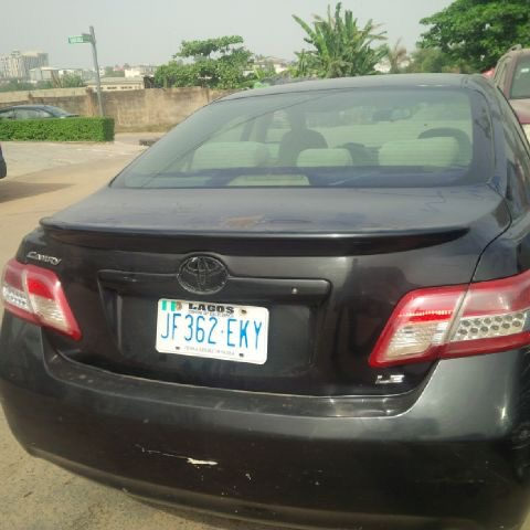 registered toyota camry 2008 autos nigeria. Black Bedroom Furniture Sets. Home Design Ideas