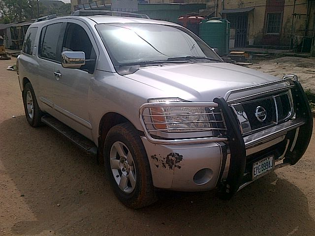 a 2004 used nissan armada for sale n1 m autos nigeria. Black Bedroom Furniture Sets. Home Design Ideas