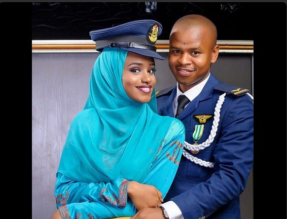 Check Out The Pre-Wedding Photos Of This Airforce Officer And His Hearthrob