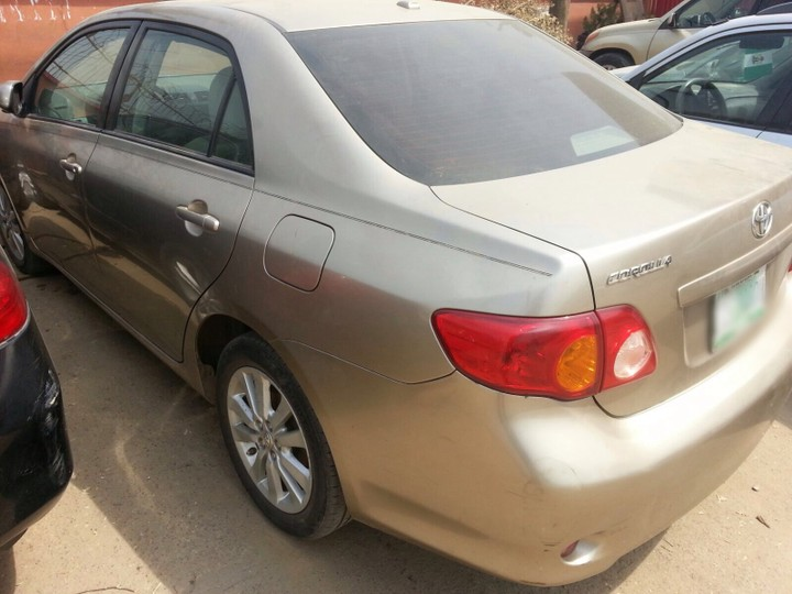 toyota corolla 2008 xle leather navigation used sold autos nigeria. Black Bedroom Furniture Sets. Home Design Ideas