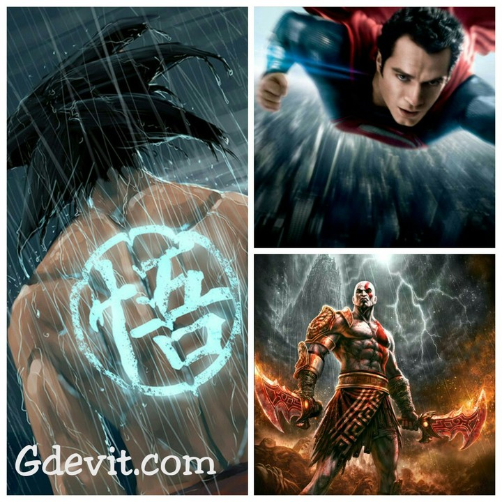 superman vs kratos vs goku whowillwin gaming nigeria