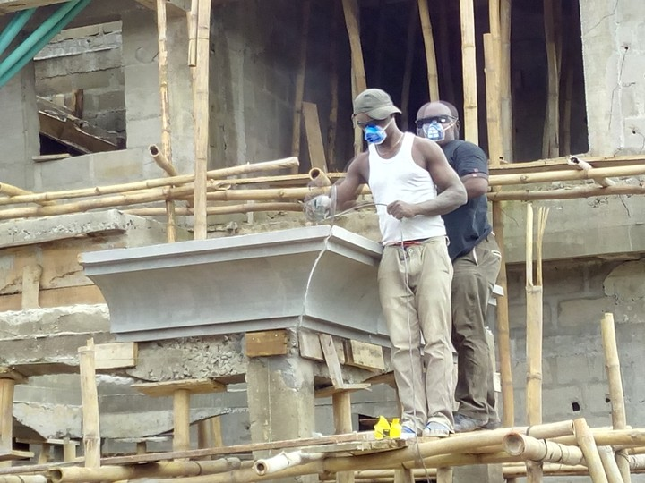 The Making Of 4-units Duplex In Iyana-Iba Lagos
