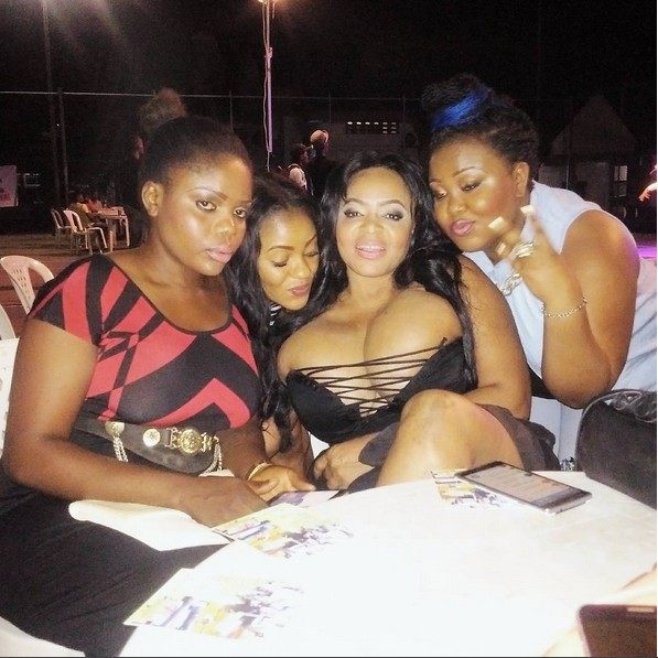 Cossy's Boobs busts Out Of Her Dress At Calabar Event(photos)