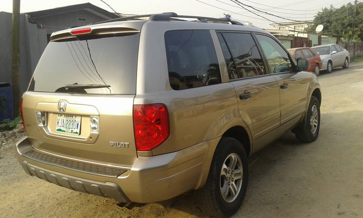 one month old honda pilot autos nigeria