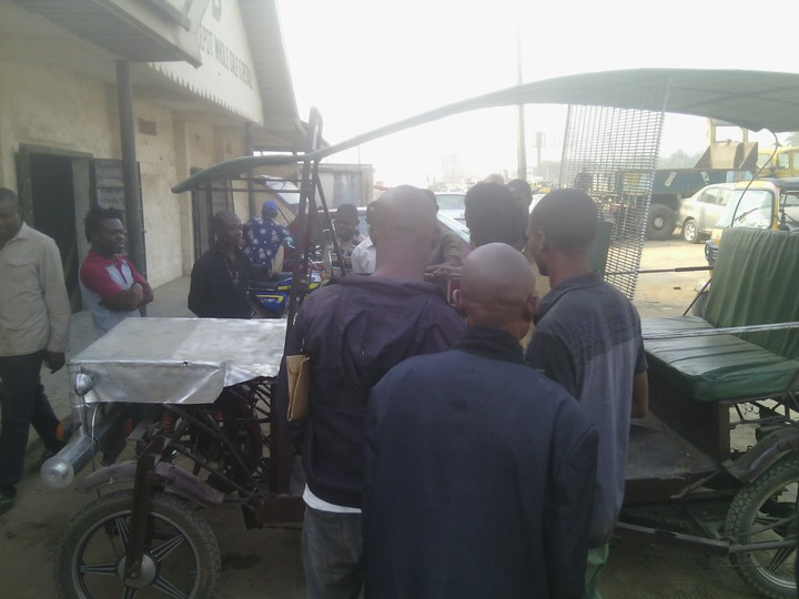 Creativity: Locally Made Vehicle Sported In Aba This Morning(Photos)