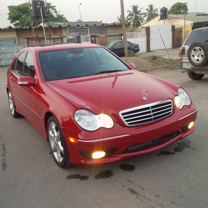 Sold super neat sweet 2007 mercedes benz c230 amg sports for Mercedes benz c230 amg