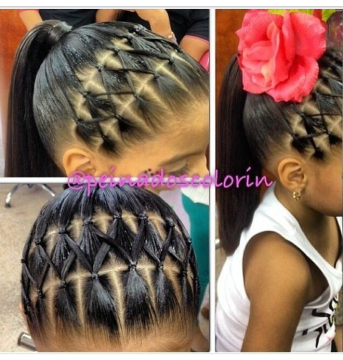 Perfect Hair Styles For Little Children This Chrismas Fashion