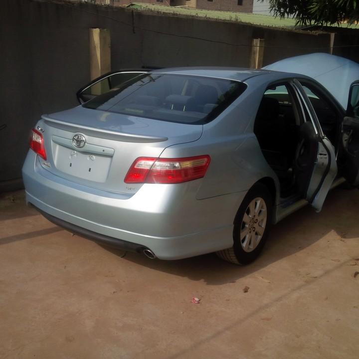2008 toks toyota camry se sold autos nigeria. Black Bedroom Furniture Sets. Home Design Ideas
