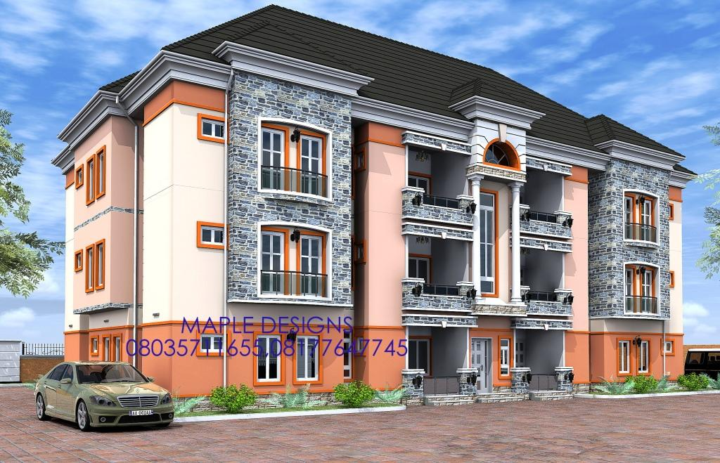 Great Architectural Designs For Nairalanders Who Want To Build   Properties (56)    Nigeria
