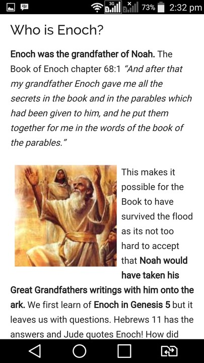 book of enoch not in bible