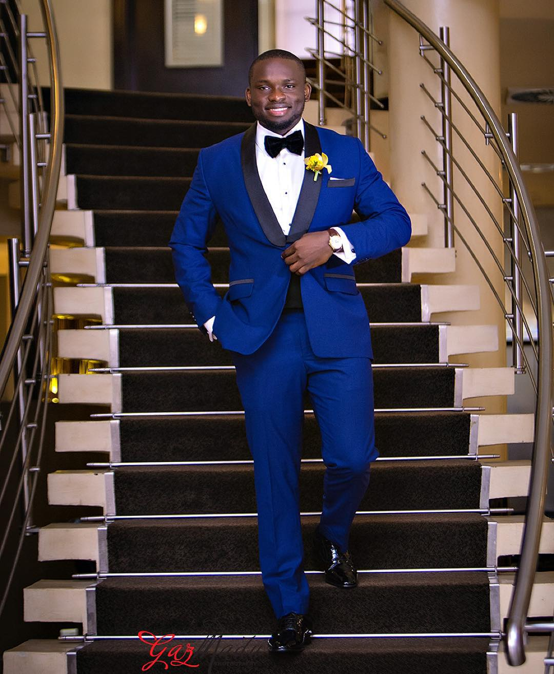 Wedding Men Hair Style: 8 Different Styles Of The Blue Tuxedo For The Groom