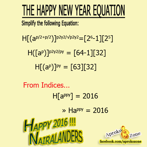 2 likes re wish your family happy new year the mathematical way