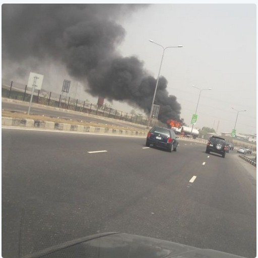 Fuel Tanker Currently On Fire At Lekki Toll Gate... See Photos 3237856_capture_jpeg6d0ce43c2e6495dc5ba7597dd3872afd