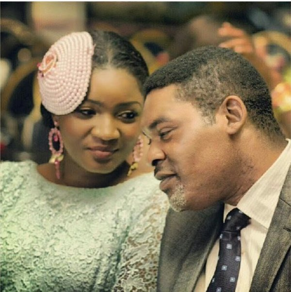 Image result for omotola and husband pictures