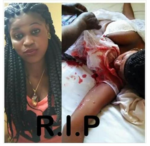 Lady Murdered By Guys For Rituals In Port-Harcourt (Graphic Pic)