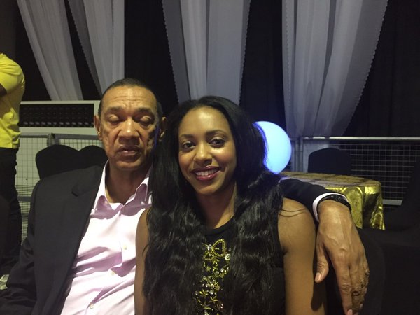 Senator Ben Murray Bruce And Daughter At 2015 Headies