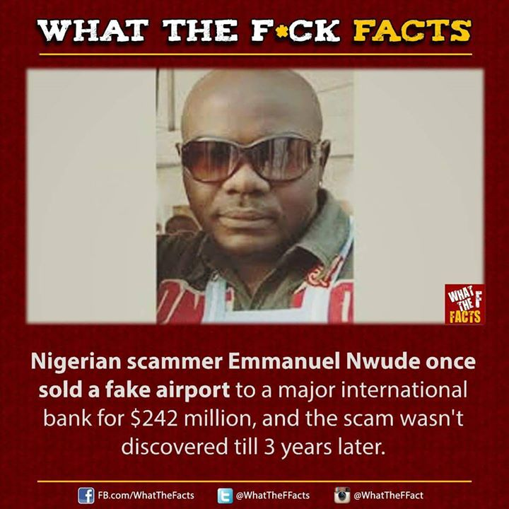 A Nigerian Scammer Who Sold A Fake Airport To An International Bank