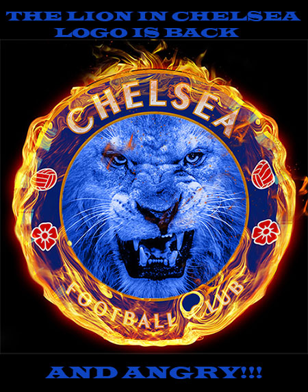 breaking news the lion in chelsea logo has returned and