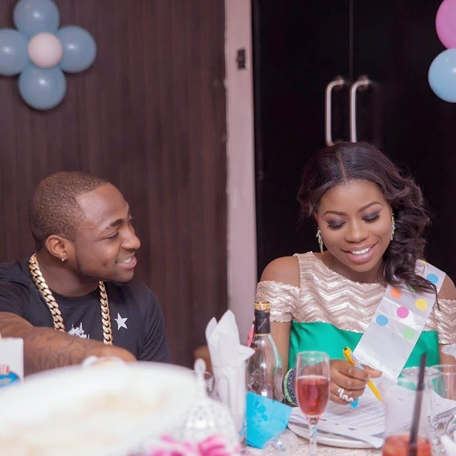 Finally! Davido And Baby Mama Sophie Sign Peace Accord