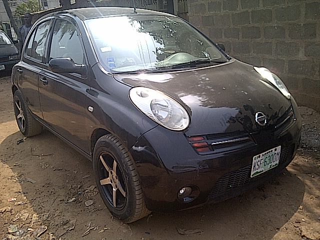 duke nissan micra sport 08 for 699k autos nigeria. Black Bedroom Furniture Sets. Home Design Ideas