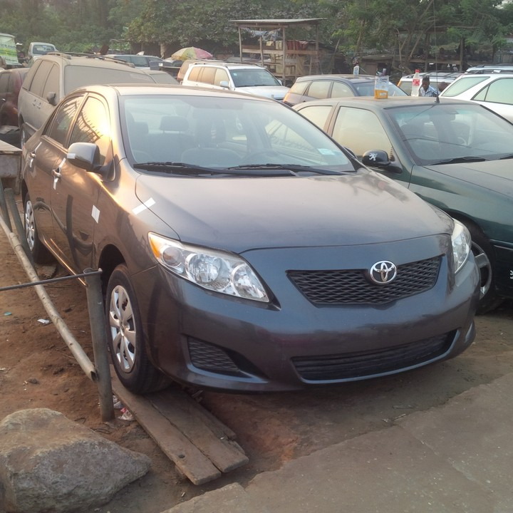 2010 Toyota Camry For Sale: 2010 Toyota Corolla Tokunbo For Sale