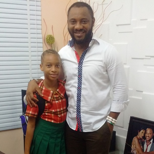 Yul Edochie Shares Some Adorable Photos Of Himself And Daughter
