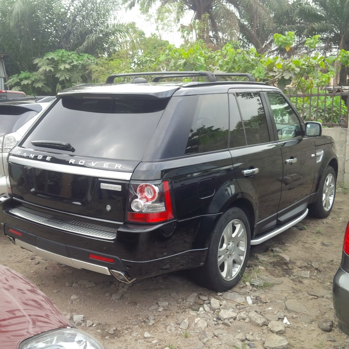 2008 range rover sport upgraded to 2012 autobiography tokunbo autos nigeria. Black Bedroom Furniture Sets. Home Design Ideas