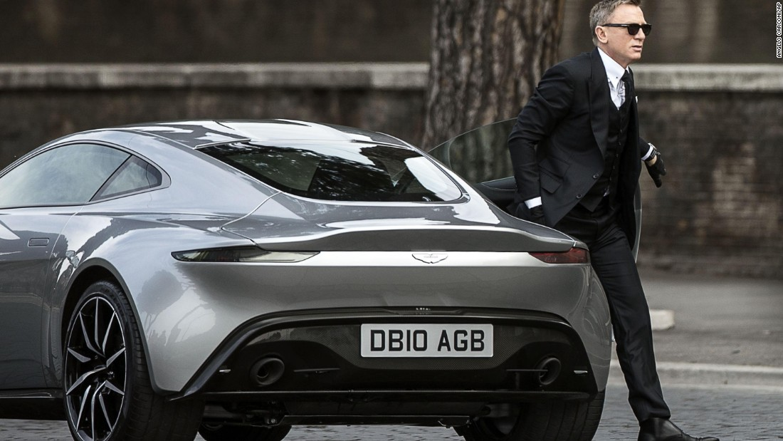 james bond all cars