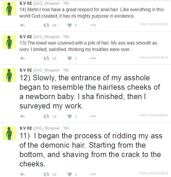 shave your ass hair
