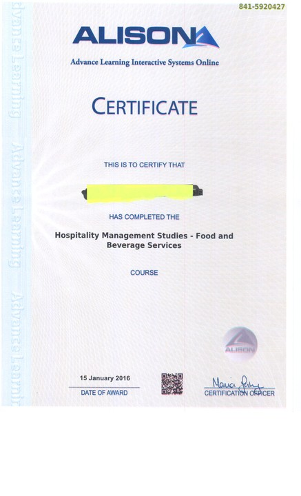 alison  100 courses offered free of charge   certificate
