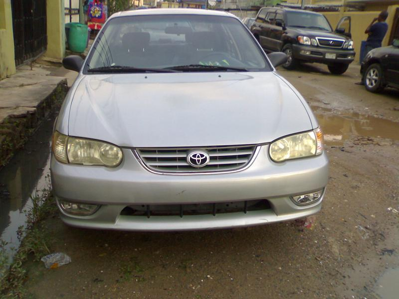 2001 toyota corolla sports for sale 1m sold autos nigeria. Black Bedroom Furniture Sets. Home Design Ideas
