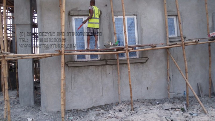 Architecture in lagos nigeria construction of duplex in for Nigeria window design
