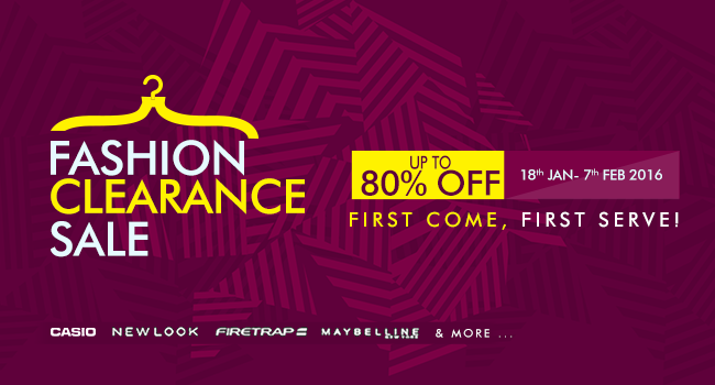 e4154c06173 Now is the time to leave whatever you are doing to jump online to the Jumia Fashion  Clearance Sales page