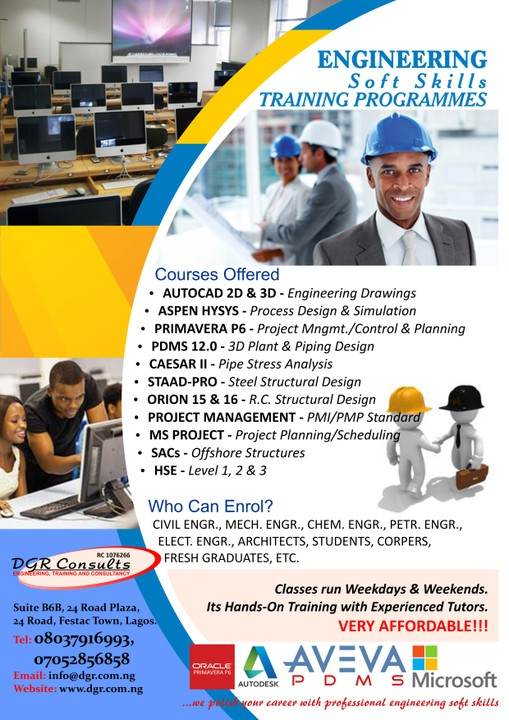 Best Staad Pro Orion Structural Design Training In Nigeria 08037916993 Certification And Training Adverts Nigeria